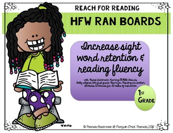 1st Grade HFW RAN BOARDS Aligned with National Geographic REACH for READING