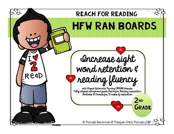 2nd Grade HFW RAN BOARDS Aligned with National Geographic REACH for READING