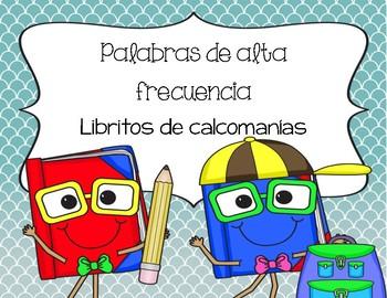 HFW Sticker books (Spanish)