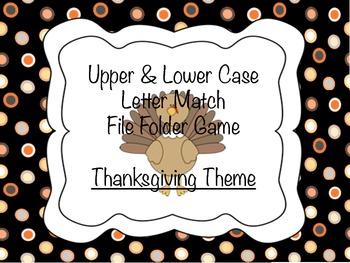 HFW Thanksgiving File Folder Game