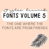 HH Font Volume Five