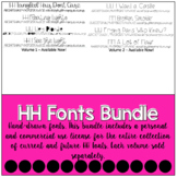 HH Fonts **THE GROWING BUNDLE**