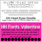 HH Fonts Valentine's Day