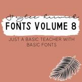HH Fonts Volume 8