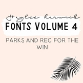 HH Fonts Volume Four
