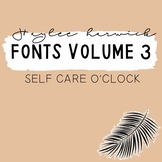 HH Fonts Volume Three