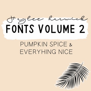 HH Fonts Volume Two