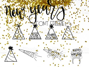 HH New Years Doddles FREEBIE