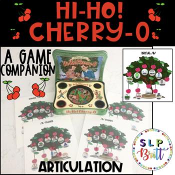 HI-HO! CHERRY-O, GAME COMPANION, ARTICULATION (SPEECH & LANGUAGE THERAPY)