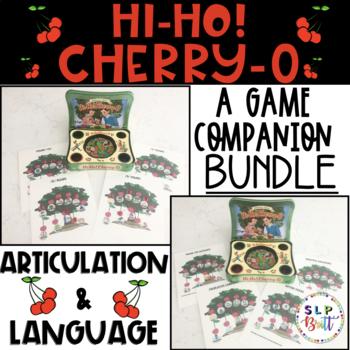 HI-HO! CHERRY-O, GAME COMPANION, BUNDLE (SPEECH & LANGUAGE THERAPY)