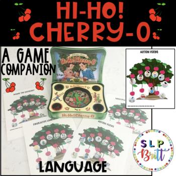 HI-HO! CHERRY-O, GAME COMPANTION, LANGUAGE (SPEECH & LANGUAGE THERAPY)