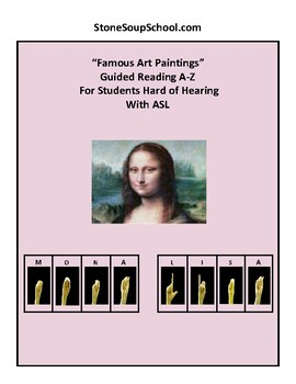 Famous Art for Students Hard of Hearing