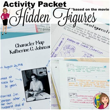 HIDDEN FIGURES ACTIVITY PACKET by Social Studies Success | TpT