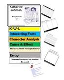 HIDDEN FIGURES: KATHERINE JOHNSON  Flip Book - Research Project