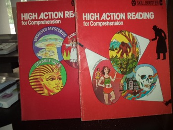 HIGH ACTION READING FOR COMPREHENSION   (SET OF 2)