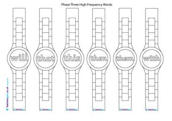 HIGH FREQUENCY WORD WATCHES
