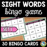 FRY SIGHT WORDS GAME: SIGHT WORDS BINGO: FRY WORDS ACTIVIT