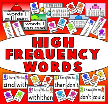 HIGH FREQUENCY WORDS RESOURCES (SIGHT WORDS) SPELLINGS READING