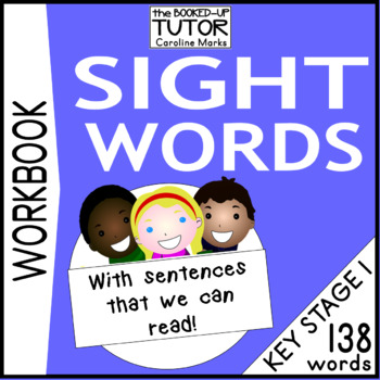 HIGH FREQUENCY WORDS Workbook Worksheets 138 Words Year 1 and 2