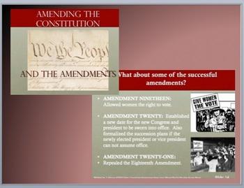 HIGH SCHOOL-3 Lessons based upon the  Bill of Rights and Amendments