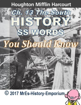 AMERICAN-HISTORY  Harcourt Words You Should Know Ch. 13