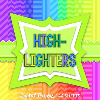 HIGHLIGHTERS24 - DIGITAL PAPERS - 144 PAGES - FREEBIES