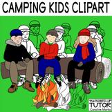 TWEENS CLIP ART {HIKING CLIP ART} {Middle School clipart}