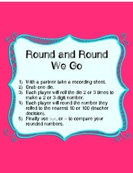 Rounding No Prep Games