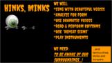 HINKS, MINKS ~ Halloween Speech Piece for PowerPoint~
