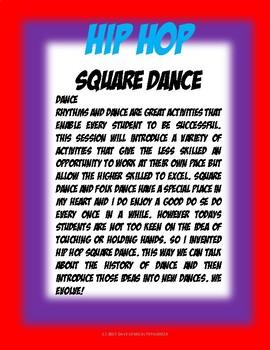 HIP HOP SQUARE DANCE