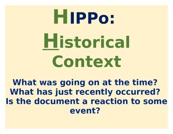 HIPPO Analysis Posters