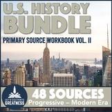 1900s Modern America US History Primary Source Analysis Bundle