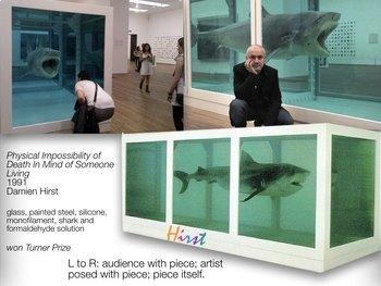 Damien Hirst Art SHOW + TEST = 210 SLIDES - UK artist Turner Prize Winner