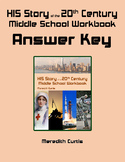 HIS Story of the 20th Century Workbook Answer Key