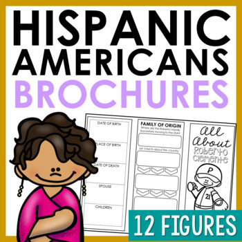 HISPANIC AMERICANS Brochure Projects | American History Research Activity