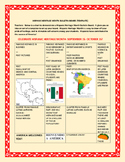 HISPANIC HERITAGE MONTH BULLETIN BOARD TEMPLATE w/FREE ACROSTIC