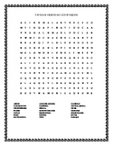 HISPANIC HERITAGE MONTH: FAMOUS HISPANIC COMPOSERS WORD SEARCH