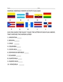 HISPANIC HERITAGE  MONTH FLAG QUIZ: GRADES 4-12-FUN!