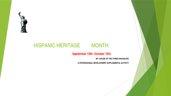 HISPANIC HERITAGE MONTH- POWER POINT FOR STAFF - PD  SUPPL