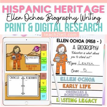 HISPANIC/LATINO HERITAGE MONTH: ELLEN OCHOA