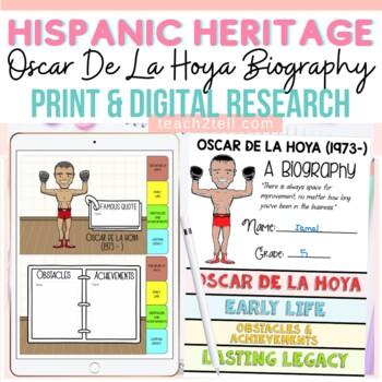 HISPANIC/LATINO HERITAGE MONTH: OSCAR DE LA HOYA