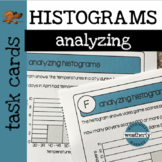 STATISTICS - Analyzing HISTOGRAMS Task Cards