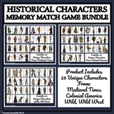 HISTORICAL CHARACTERS - MEMORY MATCHING GAME