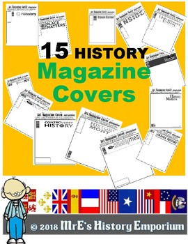 HISTORY  15 General History Magazines Cover Art Assignments
