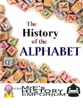 HISTORY/ ANY SUBJECT  History of the Alphabet Worksheet/Activity