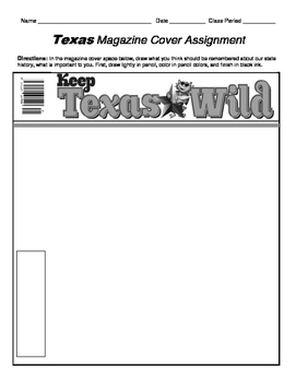 HISTORY  Another Texas Magazine Cover