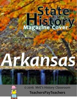 HISTORY  Arkansas magazine cover