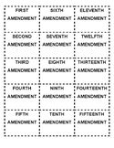 US HISTORY BILL OF RIGHTS + 11th, 12th, 13TH, 14TH, AND 15
