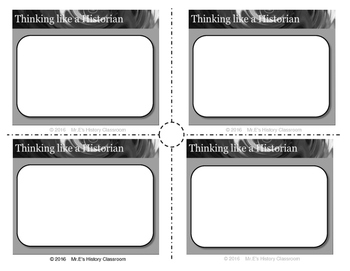 HISTORY  1st Americans Task Cards