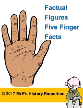 "HISTORY  ""Factual Figures Five Finger Facts"""